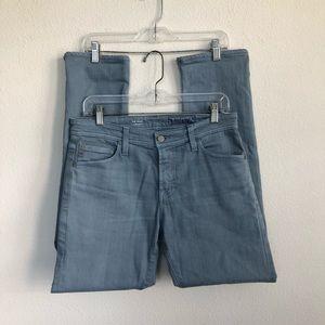 AG ED Modern Slim Blue Denim Jeans 30 r